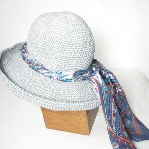 NEW Handmade Foldable Brim Sun Hat